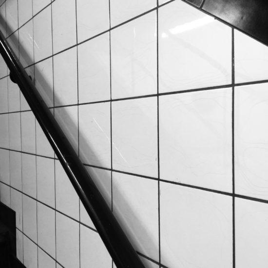 détail d'une rampe d'escaliers