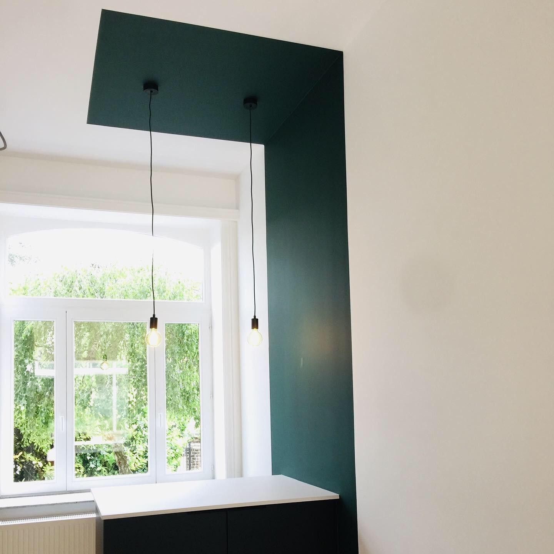 Projection peinture mur et plafond 2